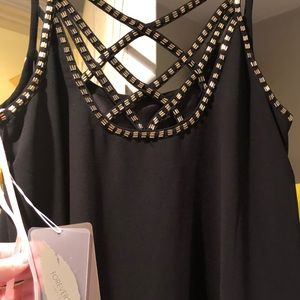 Black and gold dress from forever 21